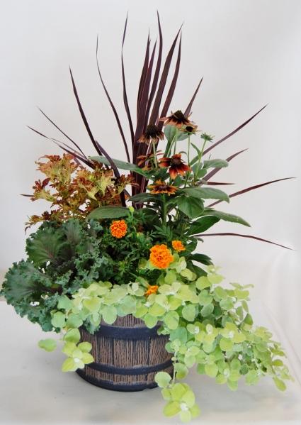 Fall Colors Planter Make & Take Morning