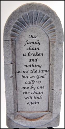 "7""x15.5"" Memorial Stone"