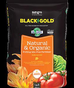 black gold natural and organic