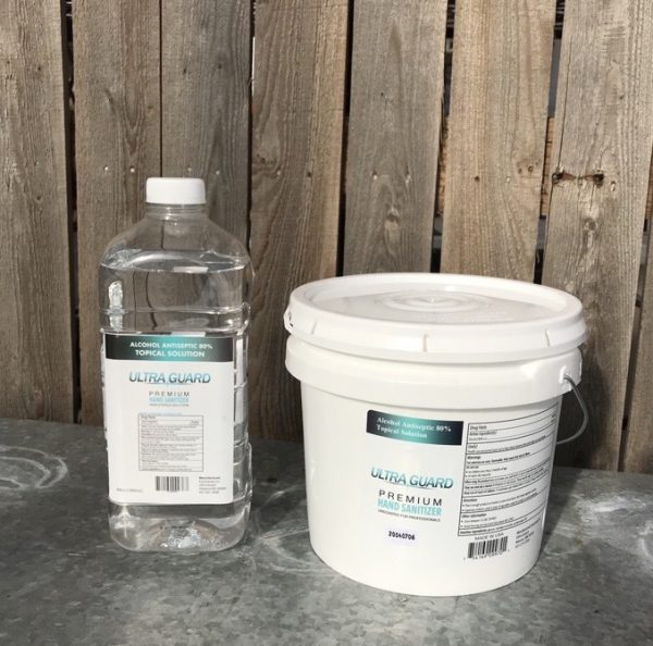 1/2 gallon and 1 gallon bucket