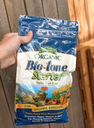 bio-tone starter plant food- fertilizer