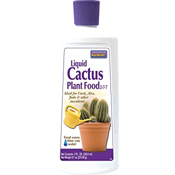 bonide liquid cactus plant food 8 oz bottle