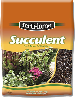 fertilome succulent mix