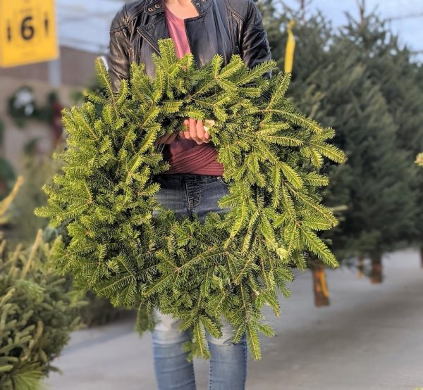 balsam wreath 16 in ring