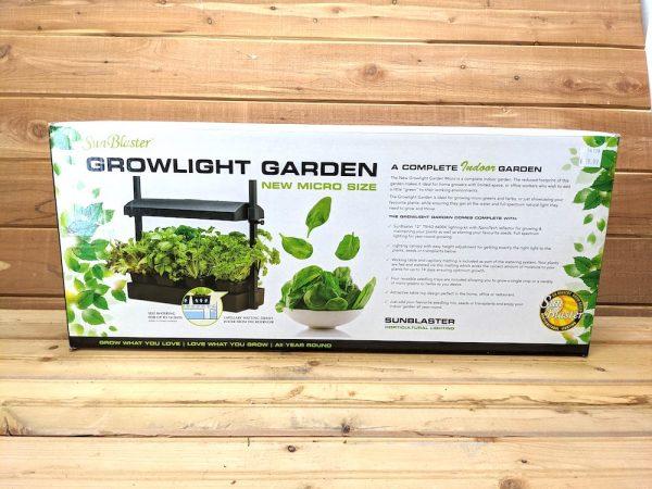 sunblaster growlight garden